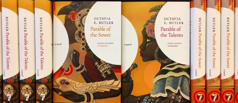 Octavia Butler's Parable set covers